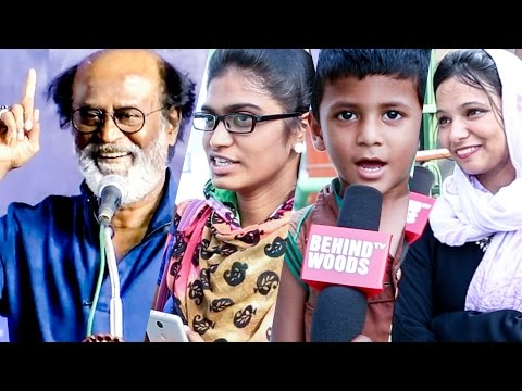 CHENNAI REACTS What If Thalaivar Superstar Rajinikanth Enters Politics DC 36