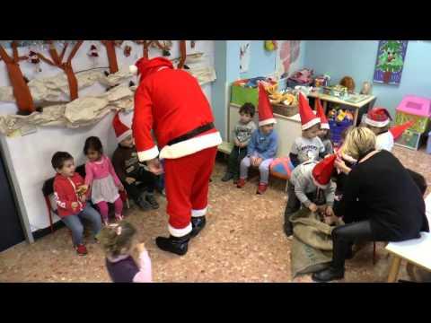 Nelle scuole di Alassio arriva Babbo Natale!