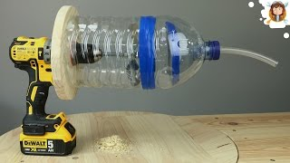 How to Make a Vacuum Cleaner - Easy Way