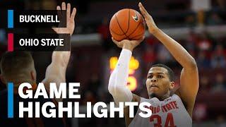 Highlights: Bucknell at Ohio State | Big Ten Basketball