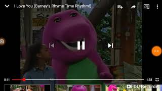 Barney: I love you  (3-pitched versions)
