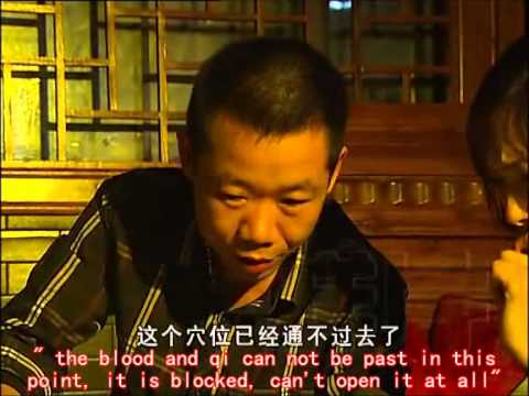 the real Dim Mak (Dian Xue, touch of death, Death-point striking) master-- xie qi ping