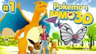 A New 3D Pokemon World! - Pokémon MMO 3D #1