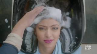 Hairfood شامبو بطعم الكباب - SNL بالعربي