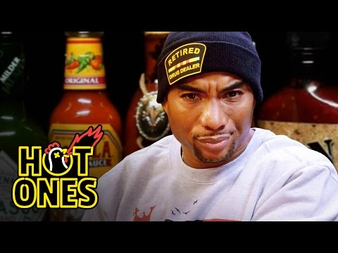 Xxx Mp4 Charlamagne Tha God Gets Heated Eating Spicy Wings Hot Ones 3gp Sex