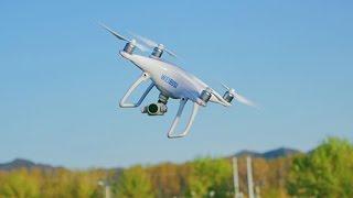 大疆精灵4无人机全方位飞行体验(DJI Phantom 4 Test Fly Review)「WEIBUSI 出品」