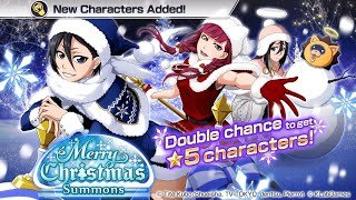 Bleach Brave Souls Episode 32: Merry Christmas🎄☃️🎁 Summons 1850 Orbs