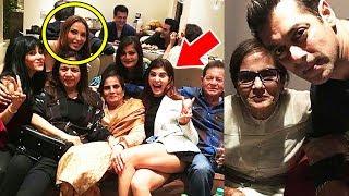 Iulia Vantur, Jacqueline Celebrates Salman Khan