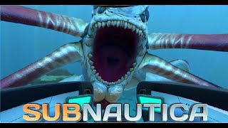 Subnautica | Reaper Leviathan killed a Sea Dragon - PakVim