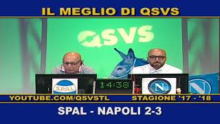 QSVS - I GOL DI SPAL -NAPOLI 2-3 TELELOMBARDIA / TOP CALCIO 24
