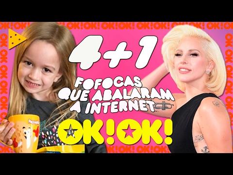 Lady Gaga no RuPaul s Brumar da riqueza e meme Chloe come paçoquita