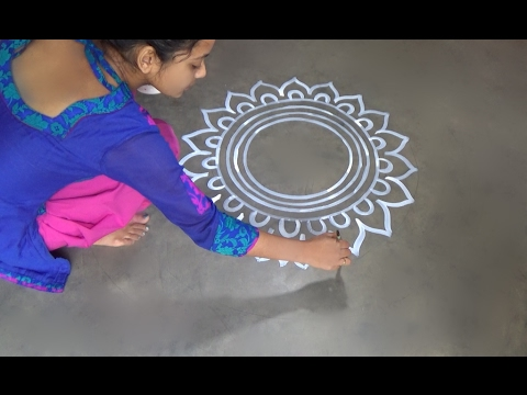 Xxx Mp4 Saraswati Puja Special Alpana Designs Easy Rangoli Desiogns Kolam Designs Muggulu Designs 3gp Sex