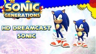 Sonic Generations - HD Dreamcast Sonic