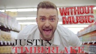 Justin Timberlake - Without Music - TRY NOT TO LAUGH! - CAN'T STOP THE FEELING - SHREDS