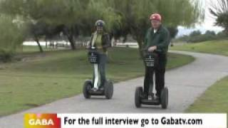 Learning How To ride a Segway