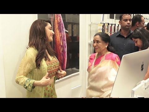 When Madhuri Dixit Met Asha Bhosle At An iphone Store