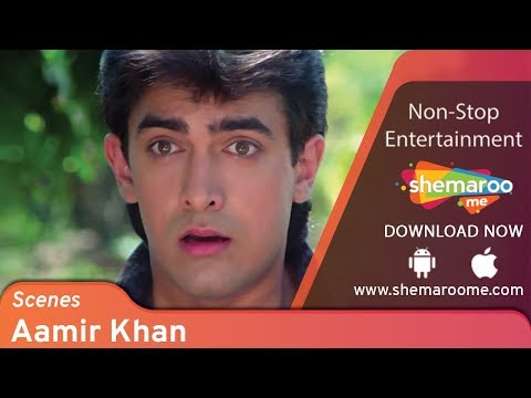 Best Aamir Khan scenes from Dil #2 - Madhuri Dixit  - Blockbuster 90's Romantic Comedy Movie
