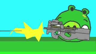 Angry Birds animated parody (ORIGINAL)