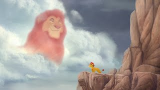 Mufasa's Advice - The Mbali Fields Migration | Lion Guard HD Clip