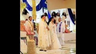 የመቅደስ ጸጋየ የመልስ ፕሮግራም በናዝሬት እና በሀረር በእናቷ ቤት  Mekdes Tsegaye wedding at her Mom's house in Nazreth