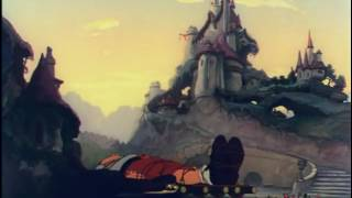 مقطع  من فلم رحلة كليبرد في أرض الاقزام