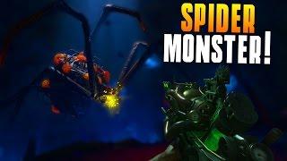 SPIDER MONSTER! (Zetsubou No Shima Gameplay) WONDER WEAPON, EVERYTHING COMPLETED, SKULLS! (BO3)