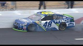 Johnson to backup car after practice crash