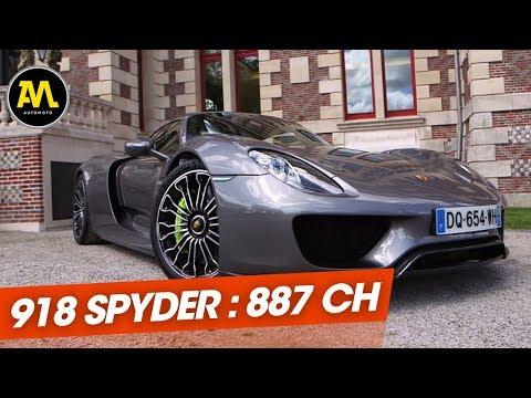 Quand on a découvert la Porsche 918 Spyder 2015