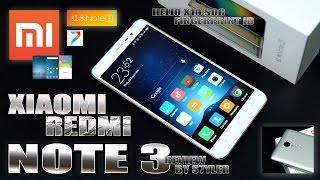 Xiaomi Redmi Note 3 (In-Depth Review) Fingerprint Unlock, Helio X10, 4000mAh - Video by s7yler