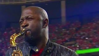 Saxophone National Anthem video  Seahawks VS  Falcons  1/14/2016 NFL SAXTHEM