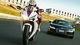 Bikes Vs Audi Car Race !!! Challenge !!!