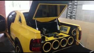 Saveiro G6 Rocket com Som Automotivo