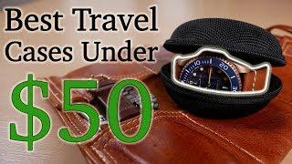 Best Watch Travel Cases Under $50 - CASEBUDi & H bar N Craftwork Roll Bag - My Favorite Accessories