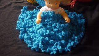 افكار متنوعةلشغل العقدة او الشراشيب الكروشيه بغرزة السلسلة Loop Stitch Crochet