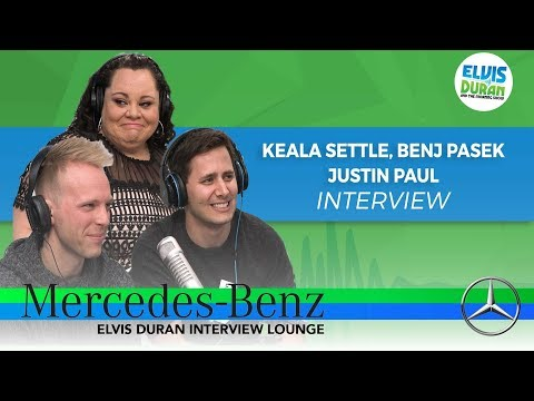 Keala Settle, Benj Pasek, and Justin Paul on 'The Greatest Showman' | Elvis Duran Show