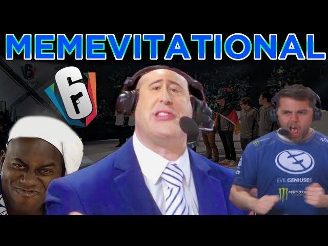 Memevitational 2018 !claimcharm   Rainbow Six Siege Invitational, Penta vs Evil Geniuses Final
