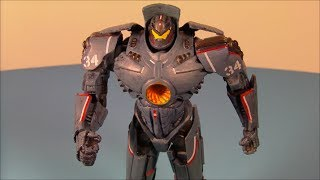 NECA PACIFIC RIM GIPSY DANGER SERIES 1 MOVIE ACTION FIGURE TOY REVIEW