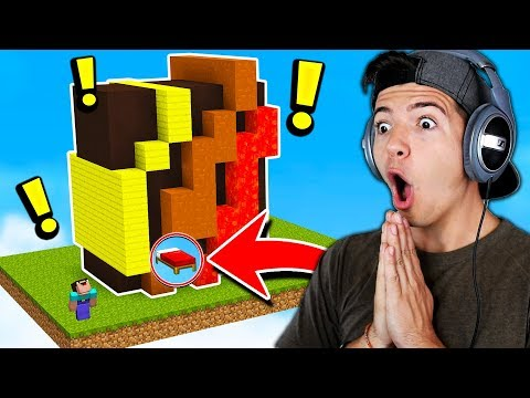 THE ULTIMATE MINECRAFT BED WARS DEFENCE Minecraft Bed Wars Trolling