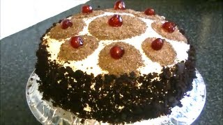 BLACK FOREST CAKE *COOK WITH FAIZA*