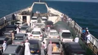 حريق في ناقلة سيارات سعودية (ميناء جدة)