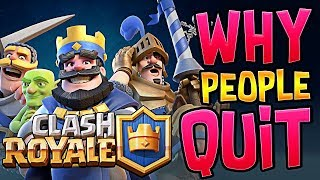 Why did People Stop Playing Clash Royale?