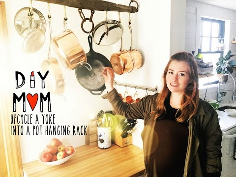 Xxx Mp4 DIY MOM How To Make A Pot Hanging Rack On A Budget For Your Kitchen 3gp Sex