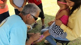 Grooving in the Pines Music Festival-Temporary Tattoos