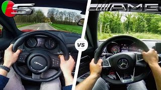 Mercedes-AMG GT S vs Jaguar F Type V8 S HEAD 2 HEAD