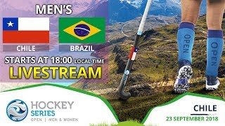 Chile v Brazil | 2018 Men's Hockey Series Open | FULL MATCH LIVESTREAM