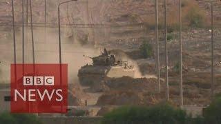 Egypt battles ISIS in Sinai - BBC News