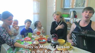 Mother Russia From Alaska To The Kremlin! Great Song!
