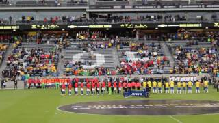 Brazil v Panama National Anthems 5/29/16