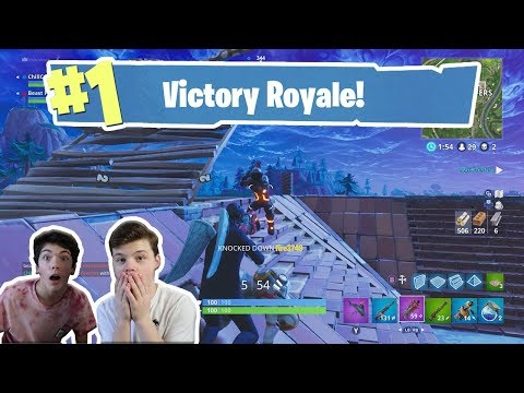 PLAYING FORTNITE WITH DOM TRACY