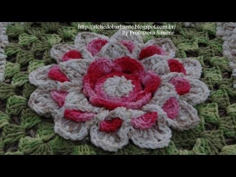 Passo a passo Mega Flor Azaleia Parte 1